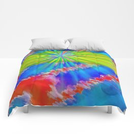 Abstract lighteffects -10- Comforters