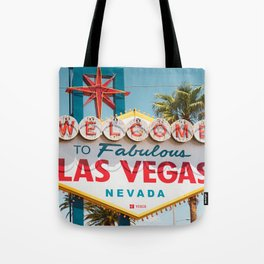 all day Welcome to Los Vegas Nevada Tote Bag