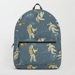 Astronaut Pattern Backpack