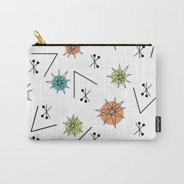 Mid Century Modern Sputnik Starburst Planets 1 Carry-All Pouch