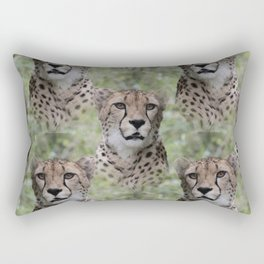 Allover Cheetah Rectangular Pillow