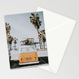 lets surf / venice beach, california Stationery Cards