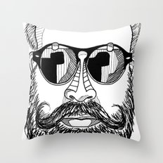 MENSUNGLASSES Throw Pillow