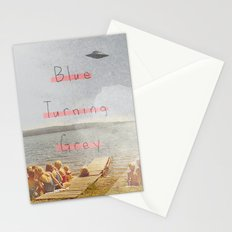 Blue Turning Grey | Collage Stationery Cards