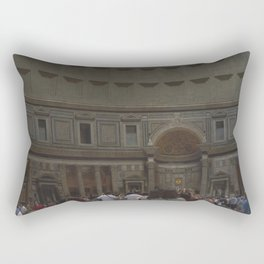Inside the Pantheon Rectangular Pillow