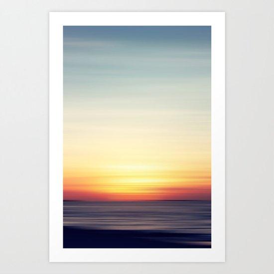 Softly II Art Print