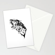 Tiger Growl Stationery Cards