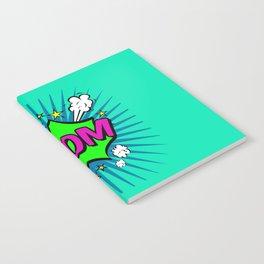 Boom Blue Boom Notebook