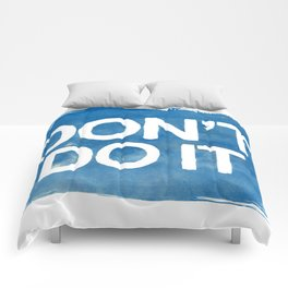 Don't Comforters