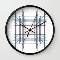 3d Wall Clocks featuring 3D by Jerry Watkins