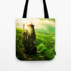 Gandalf's Return - Painting Style Tote Bag