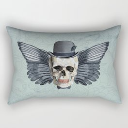 Skull - Fancy Mr X Rectangular Pillow