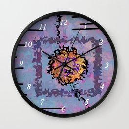 Ligne sans nom Wall Clock