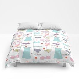 Mes Petits Dessous Pattern Comforters