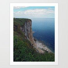 Bempton Cliffs Art Print