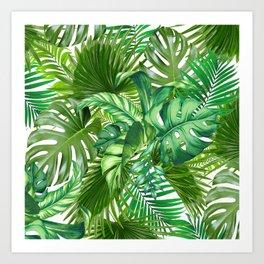 green tropic Art Print