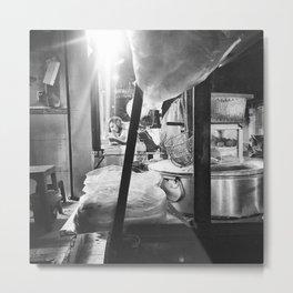 Vietnam Street Food Stall - Pho Metal Print