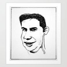 Snigger  Art Print