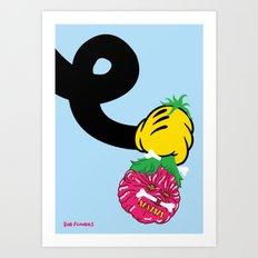 Shrunken Head Art Print