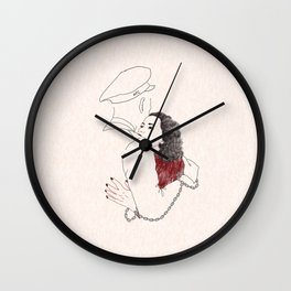 NEVER APART Wall Clock