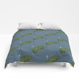Cuttlefish - Cthulu Edition Comforters