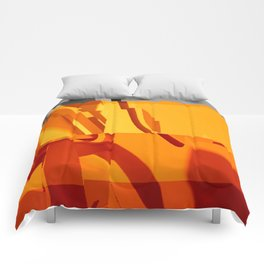 Abstract Glitch 02 Comforters