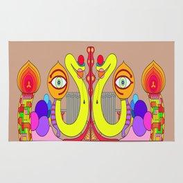 INDIAN GOD Rug