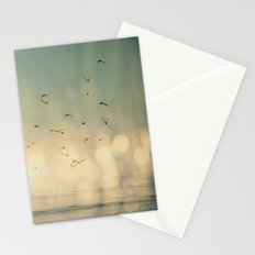 Where The Sky Meets The Sea  Stationery Cards