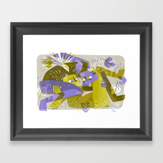 One Flesh (by Pam Wishbow) Framed Art Print