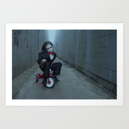 Miss Saw Art Print