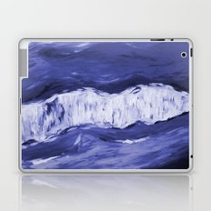 Paint 6 abstract water ocean arctic iceberg nature ocean sea abstract art drip waterfall minimal  Laptop & iPad Skin