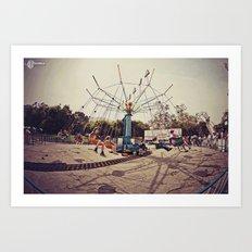 Super Swings! Art Print