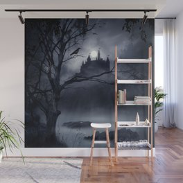 Gothic Night Fantasy Wall Mural