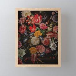 Vintage & Shabby Chic - Dutch Midnight Garden I Framed Mini Art Print