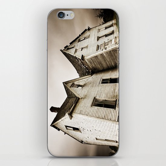 Lean into Yourself iPhone & iPod Skin