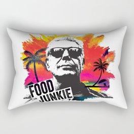 Food Junkie Rectangular Pillow
