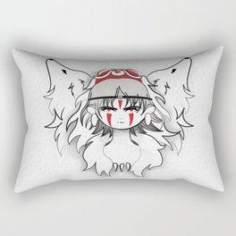 Princess Mononoke Rectangular Pillow