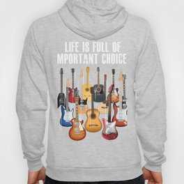 LIFE IS FULL OF IMPORTANT Hoody