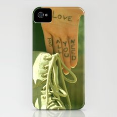 John had it right the whole time Slim Case iPhone (4, 4s)