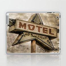Vntage Grunge Star Motel Sign Laptop & iPad Skin