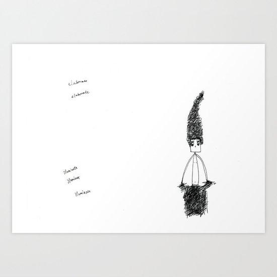 GrumpyZ Art Print