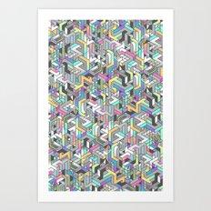 SUPATETRAL Art Print