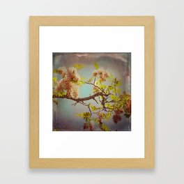 The arms of Spring Framed Art Print