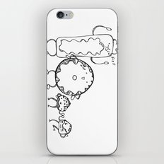 Donuts iPhone & iPod Skin