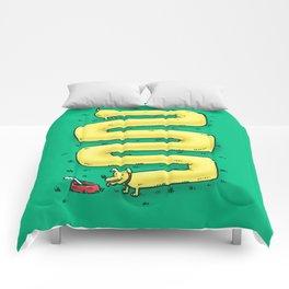 Infinite Wiener Dog Comforters