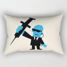 GOVERNMENT TESTING Rectangular Pillow
