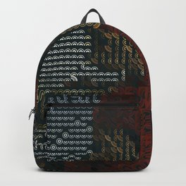 Digital expressionism 021 Backpack