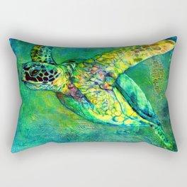 Silent Journey Rectangular Pillow