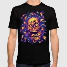 THE MUMMY'S REVENGE Black Mens Fitted Tee LARGE