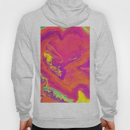 Acrylic pour psychedelia Hoody